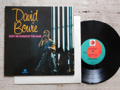 "David Bowie - Don't Be Fooled By The Name (Import 10"" LP Vinyl) Used"