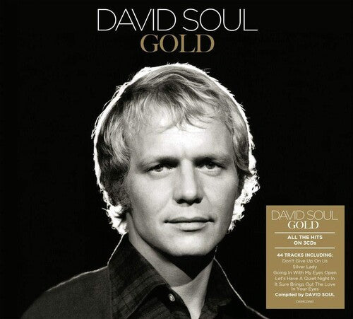 David Soul : GOLD (3xCD Import Collection) New