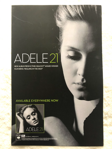 Adele - 21 - Promo Poster