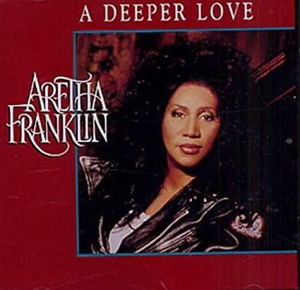 Aretha Franklin - A Deeper Love (USA Maxi CD single) Used