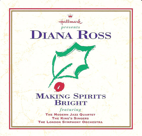 Diana Ross - Hallmark presents Making Spirits Bright -Christmas Collection - Used CD
