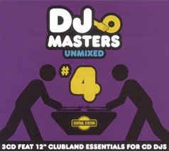 DJ Masters - Unmixed #4 (3CD Import) New