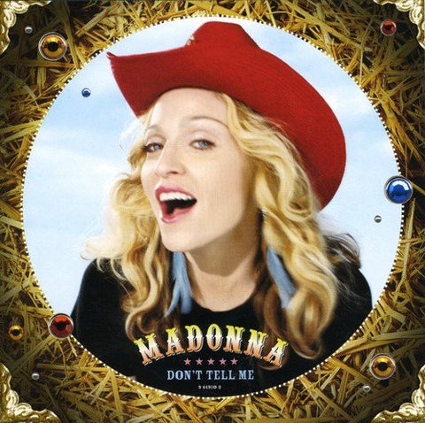 Madonna - Don't Tell Me USA maxi remix CD single- Used