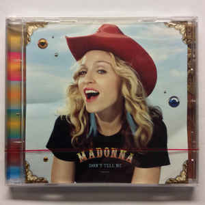 Madonna - Don't Tell Me (2 Track) CD single - New