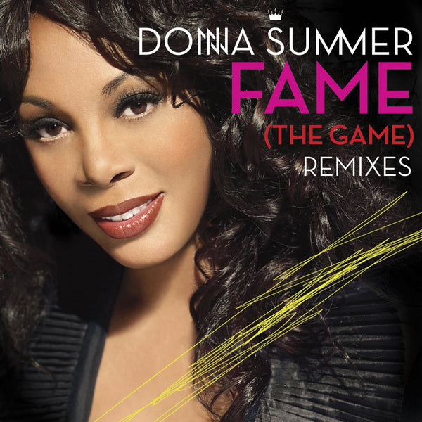 Donna Summer FAME (The Game)  &  I Feel Love (REMIX) CD single