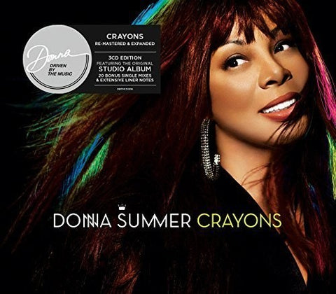 Donna Summer = Crayons Remastered & Expanded 3CD edition  (Import)