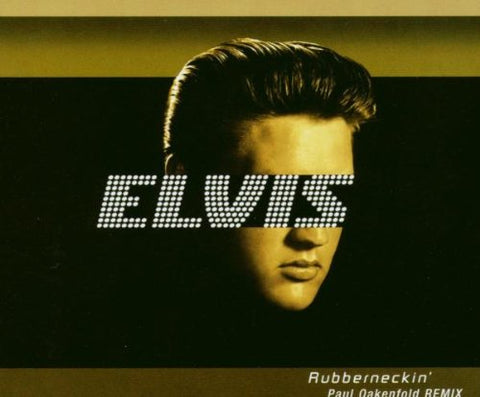 Elvis Presley - Rubberneckin' (Paul Oakenfold Remixes) CD single - new
