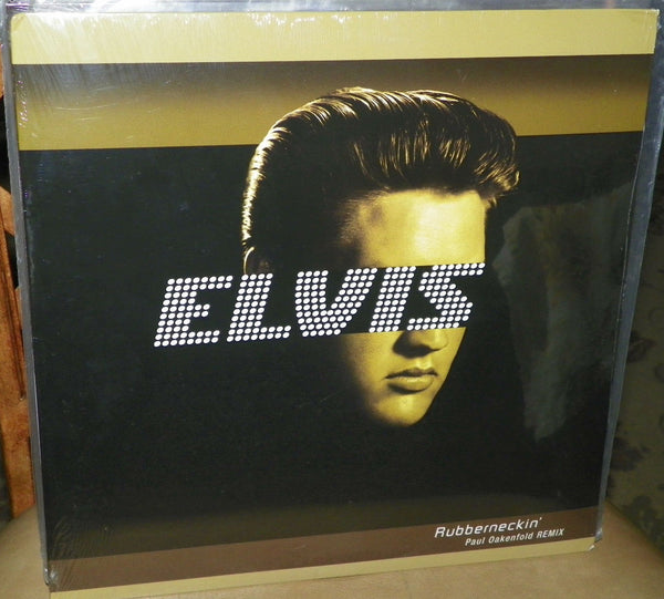 "Elvis - Rubberneckin' (Paul Oakenfold Remix) 12"" LP Vinyl 2003 - New"