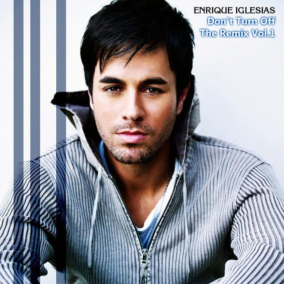 Enrique Don't Turn Off the REMIX vol. 1 CD