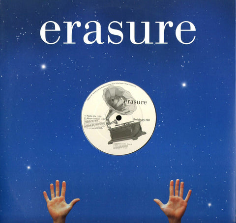 "Erasure - Solsbury Hill  (UK Promo 12"" Vinyl)"