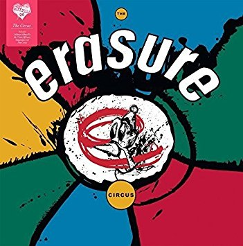 Erasure - Circus LP VINYL New 2016 reissue