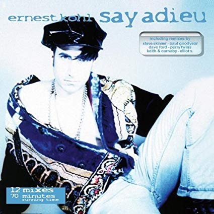 Ernest Kohn - Say Adieu  (Remix EP) CD - New