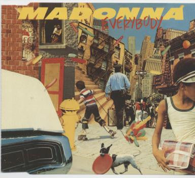 Madonna Everybody (Extended & DUB) CD single