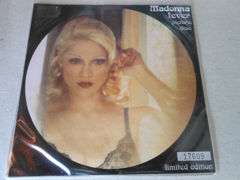 "Madonna - FEVER 7"" Picture Disc"