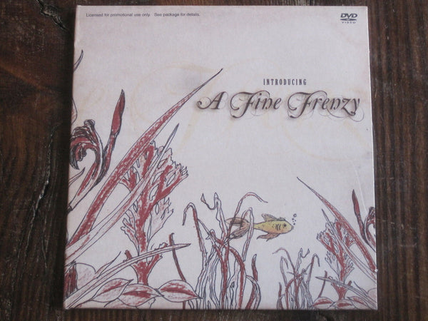 A FINE FRENZY -Introducing A Fine Frenzy  DVD (New)