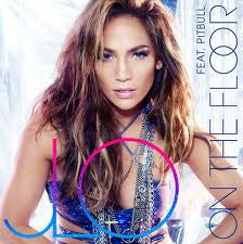 Jennifer Lopez J.Lo - On The Floor CD Single