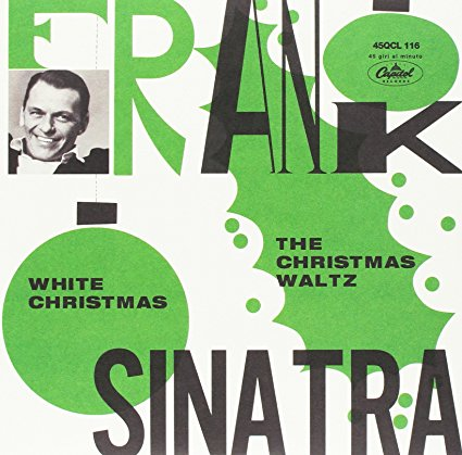 "Frank Sinatra  7"" vinyl, Colored Vinyl  White Christmas"