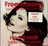 Freemasons ft. Sophie Ellis-Bextor - Heartbreak (Make Me A Dancer) - IMPORT CD Maxi-single