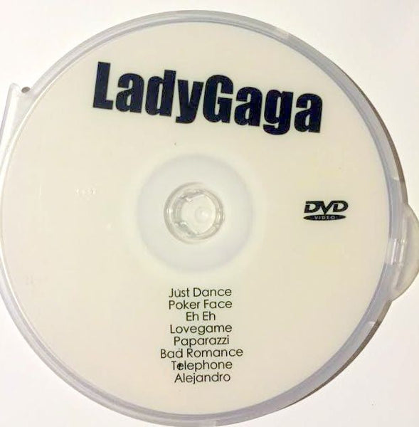 Lady Gaga Video Collection part 1 DVD