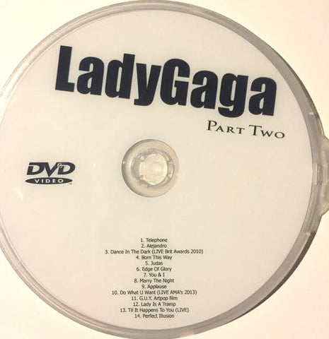 Lady Gaga - Video Collection part 2 DVD