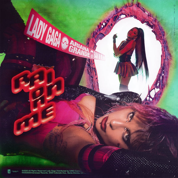 Lady GaGa ft: Ariana Grande - Rain On Me (The Remixes) CD Single - DJ
