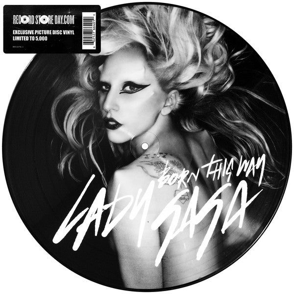 "Lady GaGa - Born This Way 12"" Picture Disc RSD"