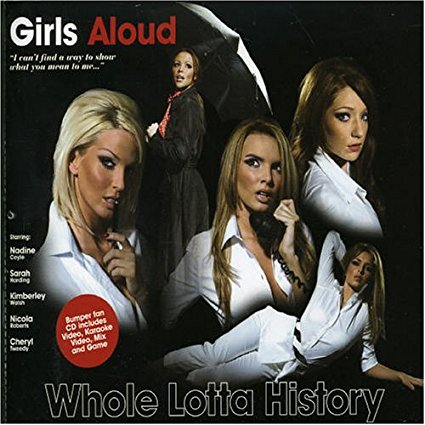 Girls Aloud - Whole Lotta History CD single