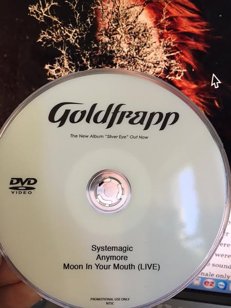 GOLDFRAPP - DVD single music videos