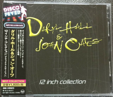 Hall & Oates: The 12 inch Collection 2 CD set remixes (Import)  NEW