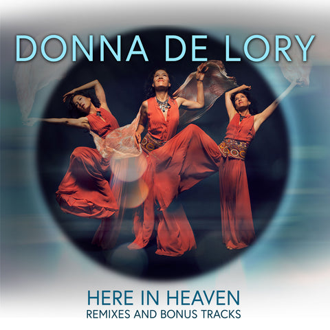 Donna De Lory - HERE IN HEAVEN : The Remixes And Bonus Tracks (LIMITED  Edition signed numbered PROMO CD)