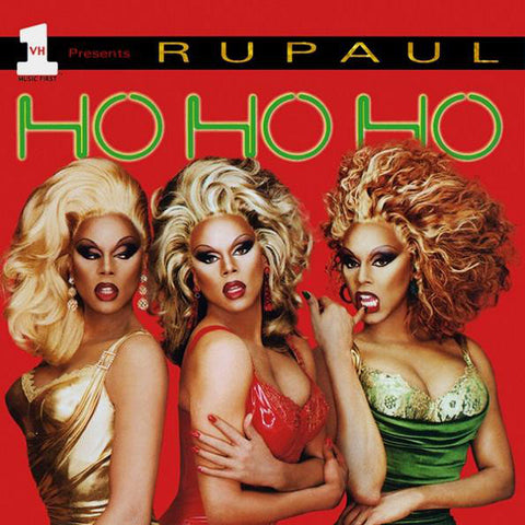 RuPaul - Ho Ho Ho (Christmas CD) - used