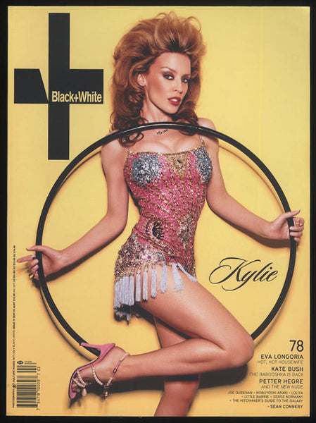Not Only Black + White Magazine: #78 Kylie Minogue, Eva Longoria, Kate Bush