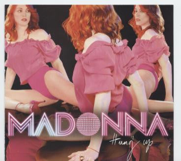 MADONNA Hung Up (USA MAXI) CD new