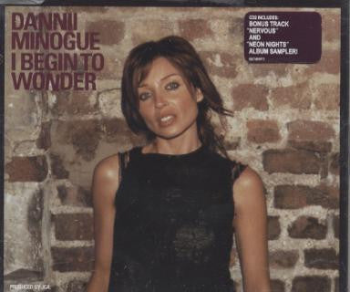 Dannii Minogue  -  I Begin to Wonder CD2 (B-sides)