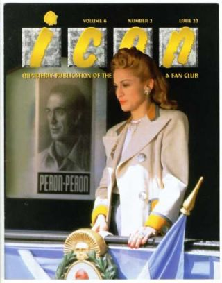 Madonna - ICON Fan Club Magazine (Evita/Eva)