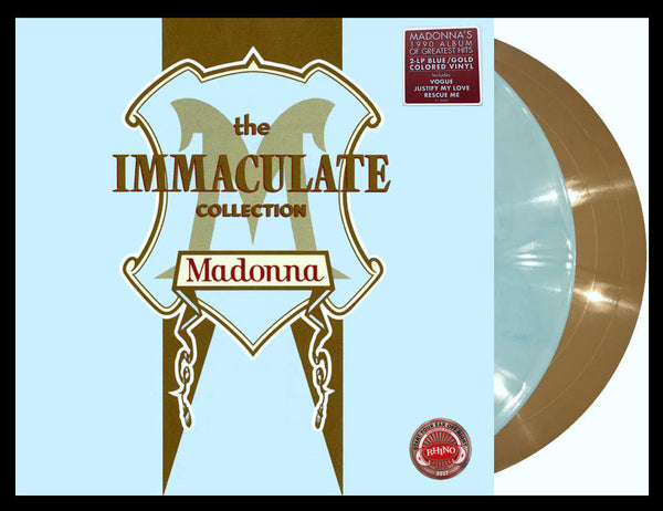 Madonna - Immaculate Collection - 2LP Colored Vinyl (2017) USA orders only.
