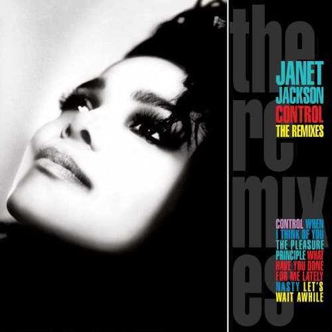 Janet Jackson - CONTROL: The Remixes (USA CD)