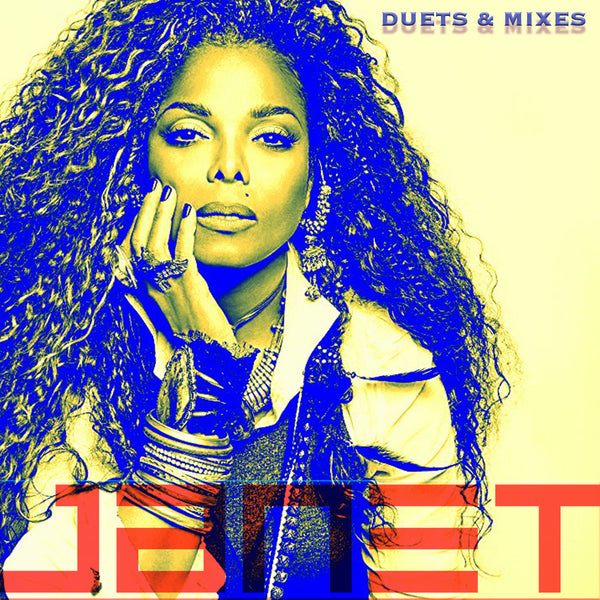 Janet Jackson - Duets & Mixes (DJ CD)