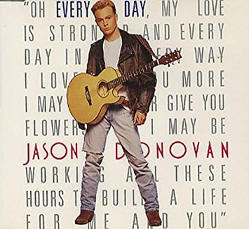 Jason Donovan - Every Day (Import CD single) Used
