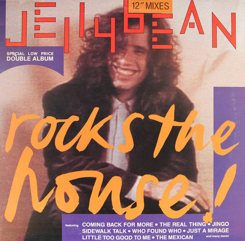 "Jellybean  - Rock The House - 2xLP 12"" remix Vinyl (Used)"