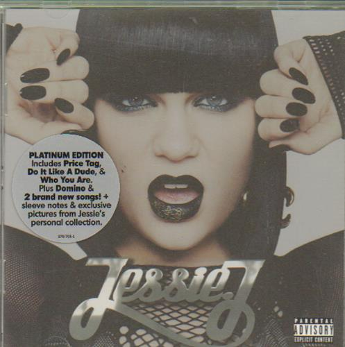 Jessie J - Who You Are : Platinum Edition  (bonus tracks) Used CD