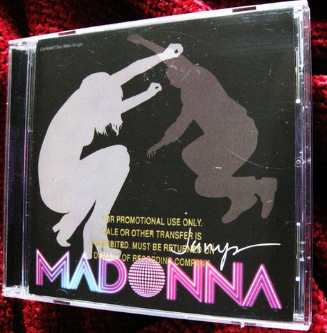 Madonna - JUMP (USA Promo Maxi CD Single w/ Gold stamp - New
