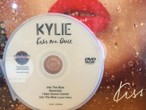 Kylie Minogue - Kiss Me Once (DVD) The Music Videos