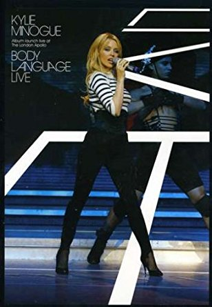 Kylie Minogue - Body Language LIVE DVD -Used
