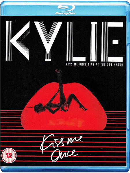 Kylie Minogue - Kiss Me Once: Live at the Sse Hydro [Blu-ray] New