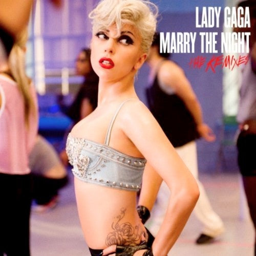 Lady GAGA Marry The Night (REMIX EP) CD single