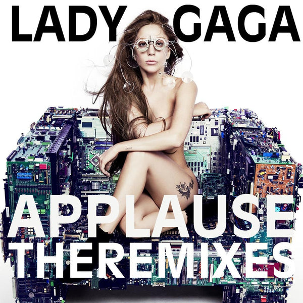 Lady Gaga Applause  (DJ CD Single)