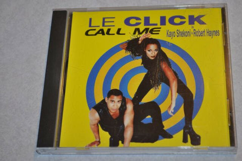 Le Click - Call Me (CD single) 2 track - Used