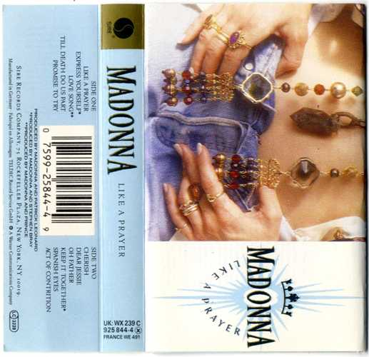 Madonna - Like A Prayer (Audio Cassette) Used