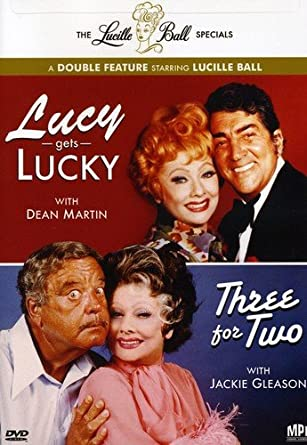 Lucille Ball: double feature: Lucy Gets Lucky / Three For Two DVD (New)